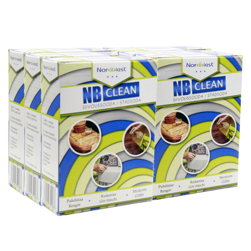 NB Clean Cleaning Soda, 6x500g
